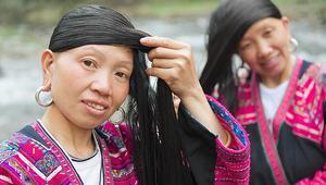 Yao Kadınları Güçlü ve Upuzun Saçlarının Sırrını Verdi