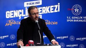 Bakan Kasapoğlu: Eren Bülbül; Türkiyenin, Trabzonun cesaret sembolü