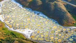 Dünyanın en sıra dışı gölü Patlayıcı yapımında kullanılmıştı...
