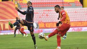 Kayserispor - Başakşehir maçından fotoğraflar