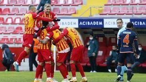Kayserispor 2 - 0 Başakşehir / Maç özeti ve golleri