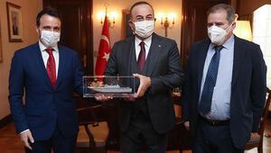 Bakan Çavuşoğlundan büyükelçiyle savunma sanayi iş birliği görüşmesi
