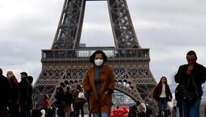 Fransada günlük koronavirüs vaka sayısı 23 bin 608 oldu