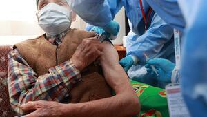 90 yaş ve üzeri için aşı başladı
