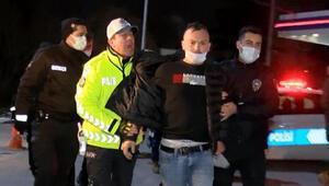 Ankarada alkollü sürücü benzinliği birbirine kattı
