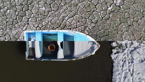 Bursada kuruma noktasına gelen Gölbaşı Barajında yağışlarla birlikte su seviyesi arttı