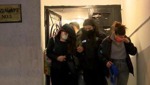 Ankarada evde uyuşturucu partisi Polisten baskın