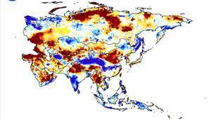 NASA Türkiye yer altı suları ve kuraklık haritası ile kritik seviyeyi yayımladı