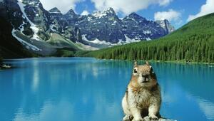 Kanadanın en eski milli parkı Banff
