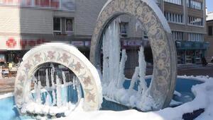 Kütahya buzdan bir kente dönüştü
