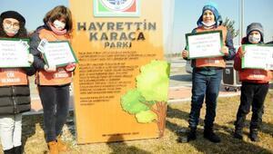 TEMA Onursal Başkanı Karacanın ismi parkta yaşatılacak