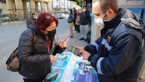 Büyükşehir, Antalyakart için stant kurup vatandaşı bilgilendiriyor