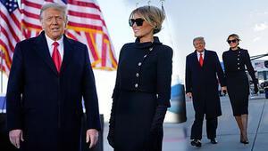 Dünya izliyor Trump Beyaz Saraydan ayrıldı, veda konuşmasını yaptı... İşte tarihi yemin töreninin tüm detayları