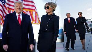 Trump veda konuşmasını yaptı: Bir şekilde geri döneceğim