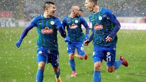 Çaykur Rizespor 3-0 Gaziantep FK maçı (Maçın özeti ve golleri)
