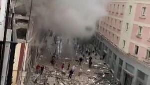 İspanyanın başkenti Madrid'de şiddetli patlama