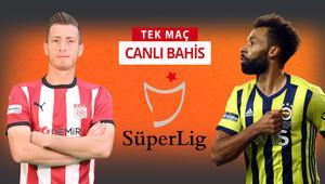 Fenerbahçe, Sivas deplasmanına 8 eksikle gitti Galibiyetlerine iddaada...