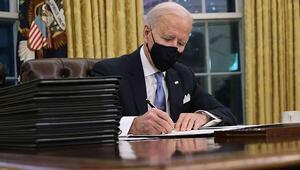 Joe Biden ABDnin 46ncı Başkanı olarak göreve başladı İşte dünyaya ilk mesajı...