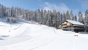 Ilgaz Dağında kayak sezonu yarı yıl tatili öncesi başlıyor