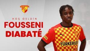Göztepe, Trabzonspordan Diabateyi kiraladı Sezon sonuna kadar...