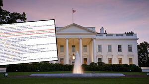 Joe Biden'ın göreve başlamasının ardından Beyaz Sarayın internet sitesinde gizli mesaj