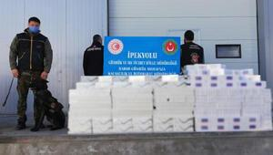 Habur Gümrük Kapısında 29 bin paket kaçak sigara ele geçirildi