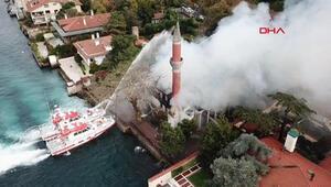 Son dakika: Tarihi Vaniköy Camiindeki yangınla ilgili soruşturma tamamlandı Yangın elektrik tesisatından çıkmış