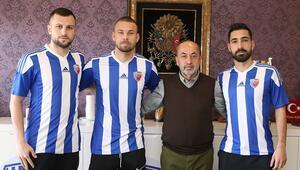 Ankarasporda transfer harekatı sürüyor 3 imza daha...
