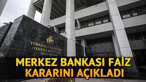 Merkez Bankası faiz kararı açıklandı Merkez Bankası faiz kararı ne oldu