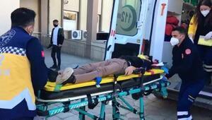 Adıyaman'da motosiklet beton direğe çarptı: 2 yaralı