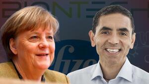 Almanya Başbakanı Merkelden flaş Uğur Şahin açıklaması...