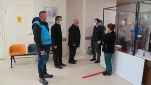 Erbaada pandemi çalışanlarına teşekkür ve moral ziyareti