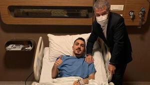 Abdulkadir Ömür ameliyat edildi
