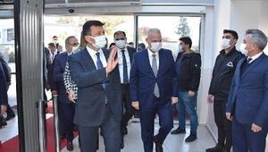 Menemen Belediyesi Başkan Vekili Pehlivana AK Parti heyetinden ziyaret