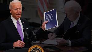 Son dakika... ABD Başkanı Joe Bidendan kritik açıklamalar: Koronavirüsle mücadelede eylem planını ortaya koydu