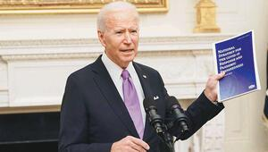 Beyaz Saray'da ilk konusu korona oldu