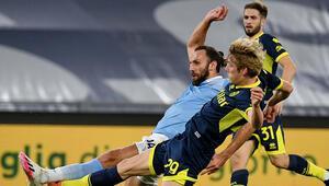 Vedat Muriqiin talihsiz anı Lazio-Parma maçında ağları sarstı ama...