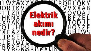 Elektrik akımı nedir ve nasıl oluşur Elektrik akımı ölçü birimi ve yönü konu anlatımı