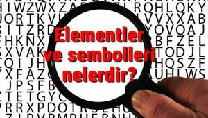 Elementler ve sembolleri nelerdir En çok bilinen elementlerin isimleri, özellikleri, atom numaraları ve kullanım alanları