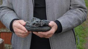 Yer Sinop... Gök taşı olduğunu iddia ettiği taşları satışa çıkardı