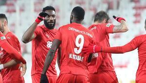 Sivassporda Mustapha Yatabare 6 hafta sonra gol sevinci yaşadı