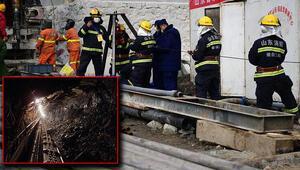 15 gün daha sürebilir Çinde yerin altında mahsur kalan madencileri kurtarma çalışmaları devam ediyor