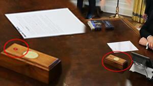 ABD'nin yeni Başkanı Joe Biden, Trump'ın kırmızı düğmesini Oval Ofis'ten kaldırttı