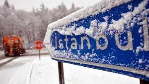 Kar yağışı İstanbula geri dönüyor - İstanbula kar ne zaman yağacak
