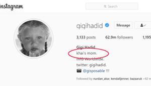 Khai ne demek Gigi Hadid, Zayn Malik bebek kızlarına Khai adını verdi