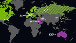 GeForce NOW, Türkiye, Avustralya ve Suudi Arabistana Geliyor