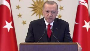 Cumhurbaşkanı Erdoğan, OECD İstanbul Merkezinin açılış törenine video konferans yöntemiyle katıldı