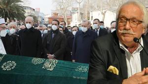 Cumhurbaşkanı Erdoğan, Yavuz Bahadıroğlunun cenaze törenine katıldı