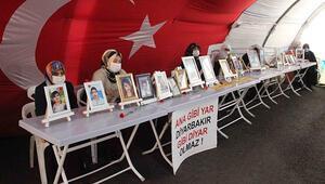 Diyarbakırda evlat nöbetindeki babadan zafer işareti yapan HDPli vekile: Zafer onun değil bu çadırındır