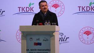 Tarım ve Orman Bakanı Pakdemirli, Beymir Entegre Et Tesisinin açılış törenine katıldı